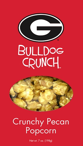 7 oz Box Bulldog Crunch Pecan Popcorn
