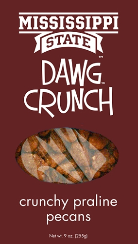 9 oz box Dawg Crunch - Crunchy Praline Pecans MAIN