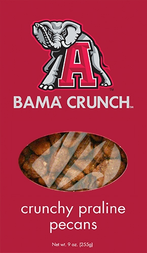 9 oz Box Bama Crunch Praline Pecan