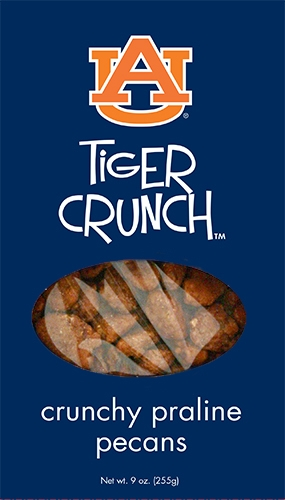 9 oz Box Tiger Crunch Praline Pecan