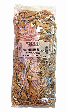 1 lb. bag Southern Pecan Halves LARGE