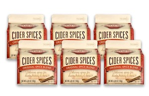 Aspen Mulling Cider Spices - (6) 5.65 oz cartons LARGE