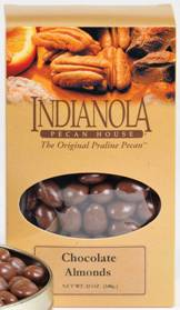 12 oz Box Chocolate Almonds