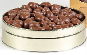 1# Tin Chocolate Almonds