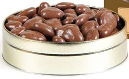 1# Tin Chocolate Pecans