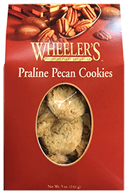 5 oz box Praline Pecan Cookies LARGE