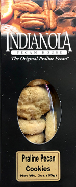 3 oz box Praline Pecan Cookies