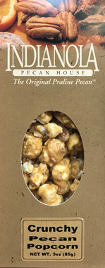 3 oz box Crunchy Pecan Popcorn LARGE