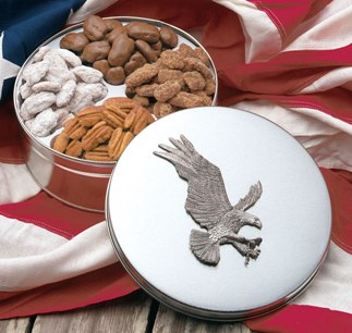 American Bald Eagle Tin