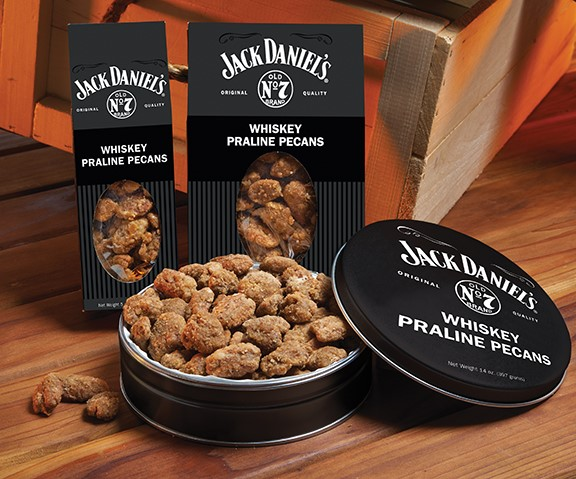 14 oz. Jack Daniel's Whiskey Praline Pecan Tin LARGE