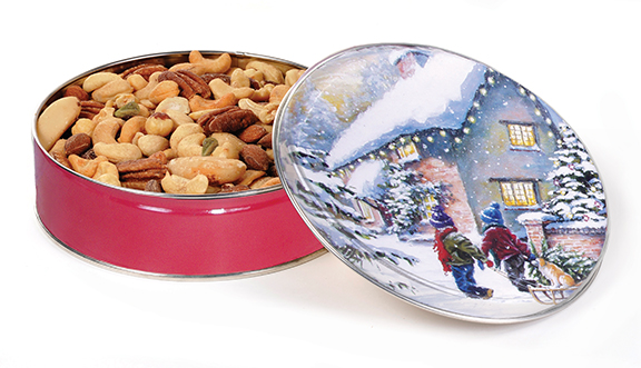 1# Tin Extra Fancy Mixed Nuts