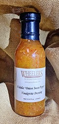 Vidalia Onion Sweet Pepper Vinaigrette Dressing THUMBNAIL