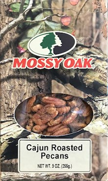 9 oz Mossy Oak Box Cajun Roasted Pecans