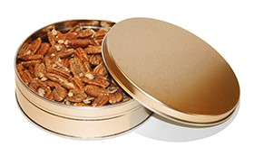 1# Tin Cajun Roasted Pecans