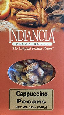 12 oz Box Cappuccino Pecans LARGE