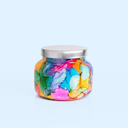 Capri Blue Volcano Rainbow Signature Watercolor Jar Candle THUMBNAIL