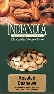 12 oz. Box Roasted & Salted Cashews MAIN