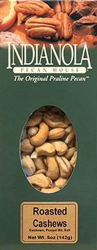 5 oz. Box Roasted & Salted Cashews THUMBNAIL