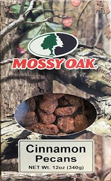 12 oz Mossy Oak Box Cinnamon Pecans LARGE