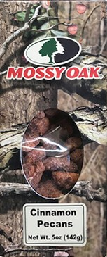 5 oz. box Cinnamon Pecans - Mossy Oak LARGE