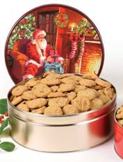2# 11 oz. Pecan Praline Cookie Tin