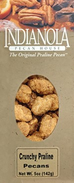 5 oz box Crunchy Praline Pecans LARGE