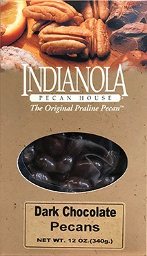 12 oz Box Dark Chocolate Pecans_LARGE