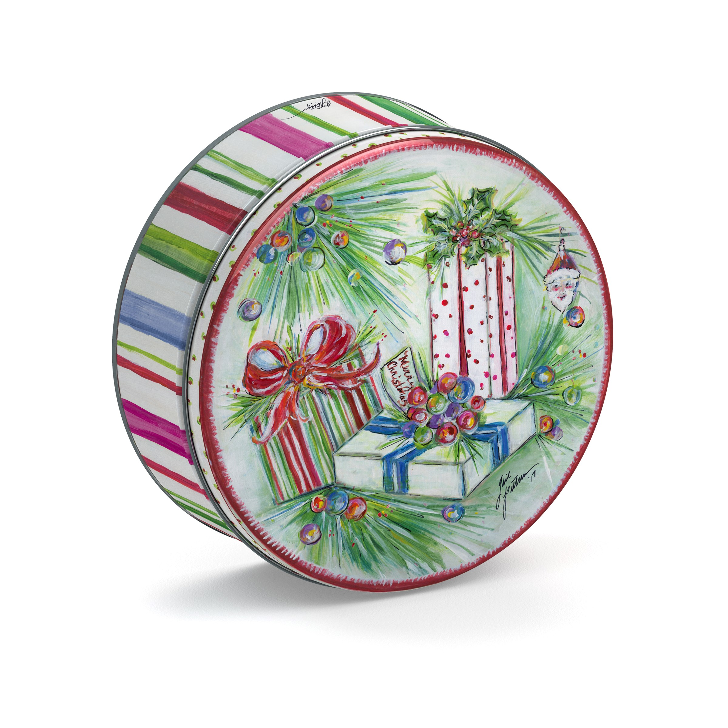 16 oz. Gail Pittman Holiday Tin