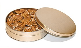 12 oz. Southern Pecan Halves Tin