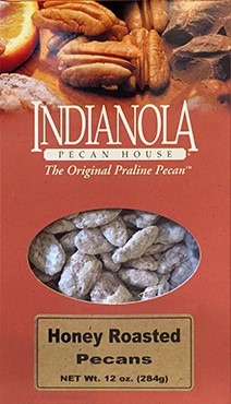 12 oz Box Honey Pecans