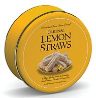 Original Lemon Straws- 16 oz. Tin
