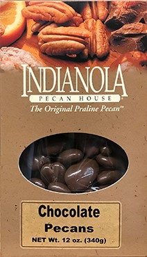 12 oz Box Chocolate Pecans LARGE