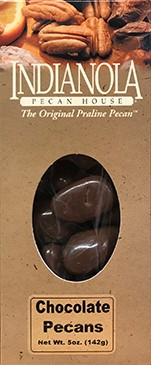 5 oz. Box Chocolate Pecans