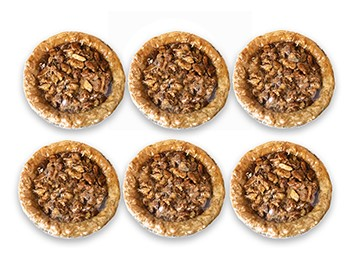 Mini Southern Pecan Pies (6) LARGE