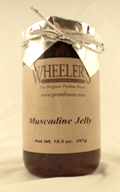 Wheeler's Muscadine Jelly 10.5 OZ THUMBNAIL