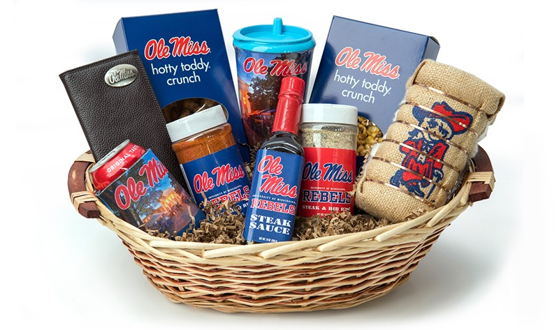 Ole Miss Gift Basket