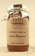 Wheeler's Pear Preserve 10.5 OZ THUMBNAIL
