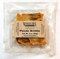 3 oz tray Pecan Brittle THUMBNAIL