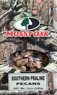 12 oz. box Praline Pecans - Mossy Oak