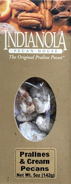 5 oz box Pralines & Cream Pecans LARGE