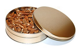 12 oz. Sea Salt Roasted Pecan Tin THUMBNAIL
