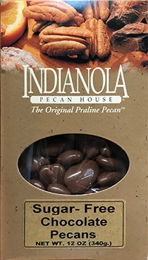 12 oz. Box of Sugar-Free Chocolate Pecans LARGE