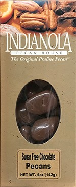 5 oz. Box Sugar-Free Chocolate Pecans LARGE