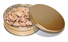 1# Tin Sugar-Free Cinnamon Pecans LARGE