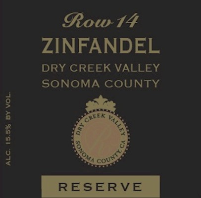 FUTURE - 2018 Row 14 Estate Reserve Zinfandel MAIN