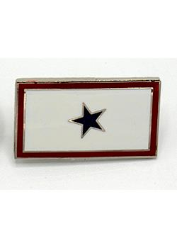 Armed Forces Blue Star Serving Pin MAIN
