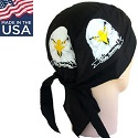 Eagle Head Skull Cap