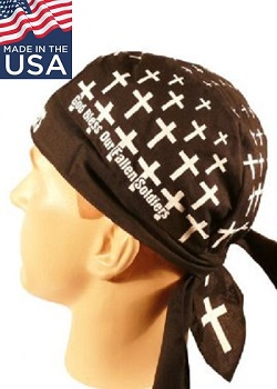 God Bless Fallen Soldiers Skull Cap