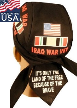 Iraq War Veteran Skull Cap