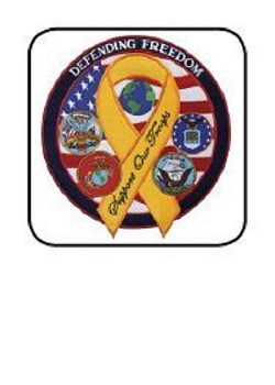 Defending Freedom / Support Our Troops Patch